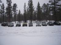 Highlight for album: Big Bear snow run - Dec 2009